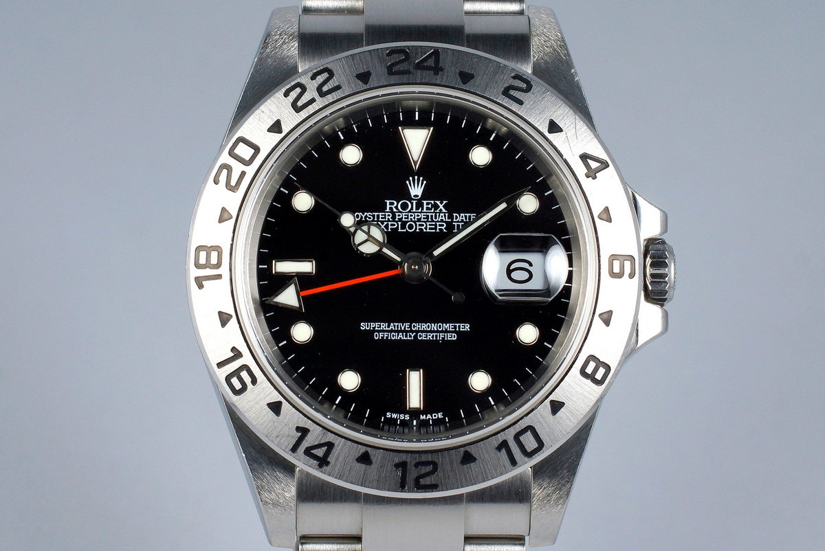 Amazoncom Rolex Explorer II White Dial Stainless Steel