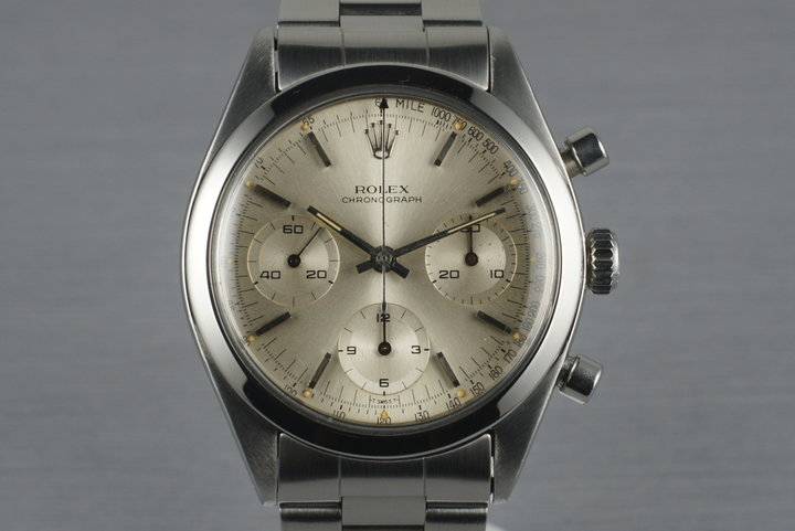 1964 Rolex Pre Daytona 6238 with Silver Dial photo