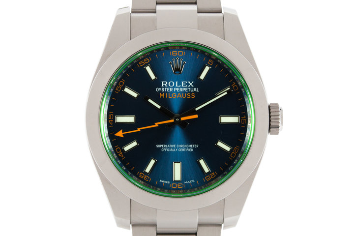 Rolex Milgauss 116400GV with Box photo