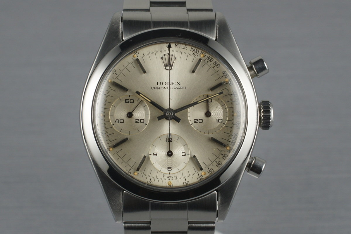 1964 Rolex Pre Daytona 6238 with Silver Dial photo, #0