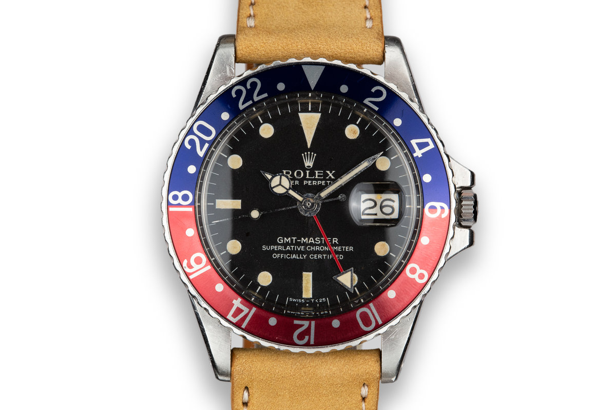 1970 Rolex GMT-Master 1675 with Service Papers photo, #0