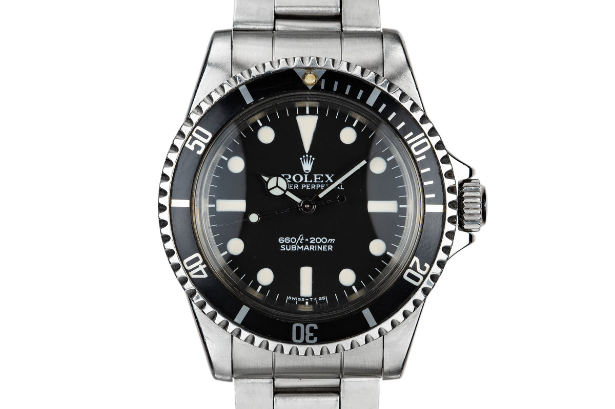1966 Rolex Submariner 5513 with MK I Maxi Dial photo, #0