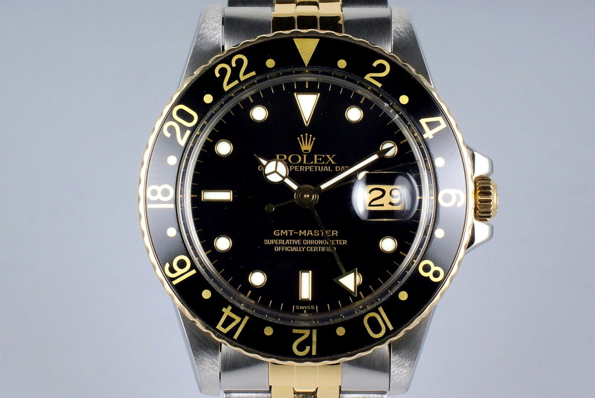 1981 Rolex Two Tone GMT 16753 with RSC Papers photo, #0
