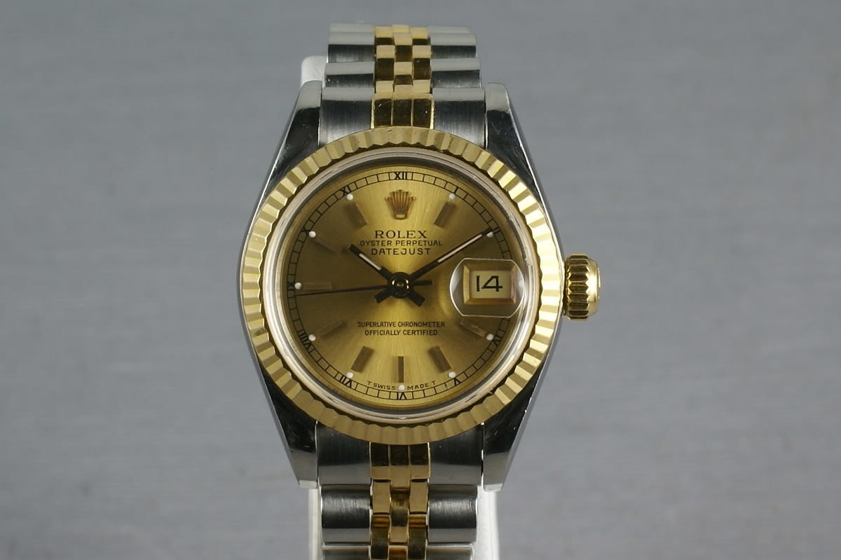 Rolex Ladies Datejust 69173 Box, Papers and Mr. Hudson Letter photo, #0