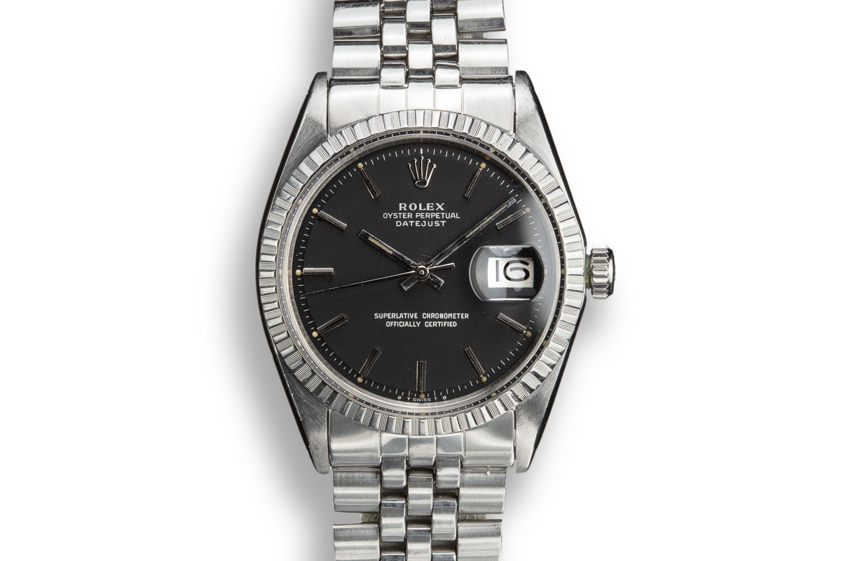 1974 Rolex DateJust 1603 with Black Sigma Dial photo, #0