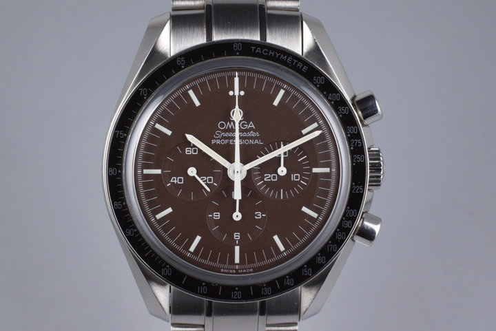 Omega Speedmaster Moonwatch 311.30.42.30.13.001 with Warranty Card photo