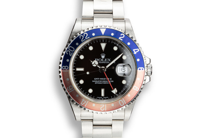 "2003 Rolex GMT-Master II 16710 ""Pepsi"" photo"