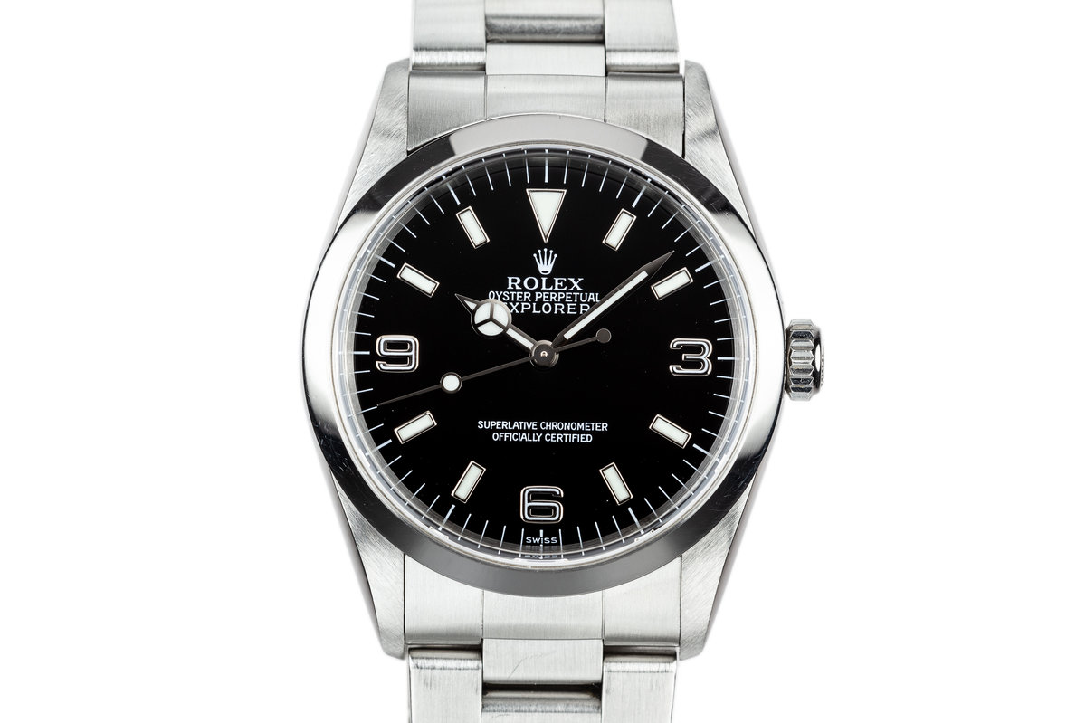 1998 Rolex Explorer 14270 with SWISS Only Dial photo, #0