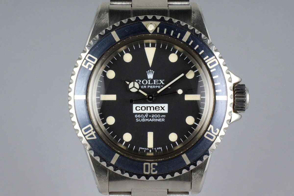 1977 Rolex Submariner 5514 COMEX with Henry Hudson Letter photo, #0