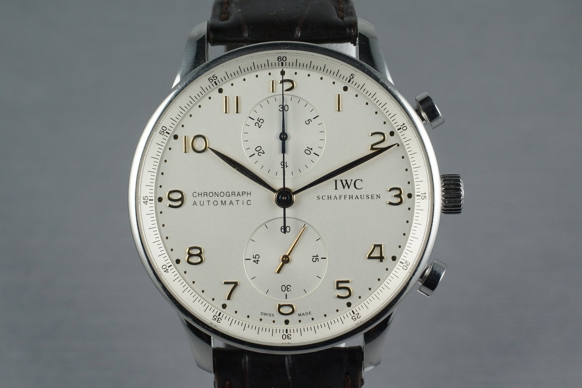 IWC Portuguese IW371401 with Box and Papers photo, #0