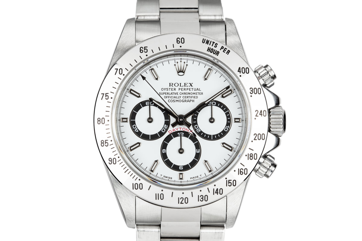 1995 Rolex Daytona 16520 White Dial with Box and Papers photo, #0