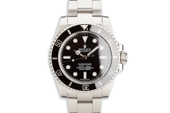 Rolex Submariner 114060 Box and Card photo