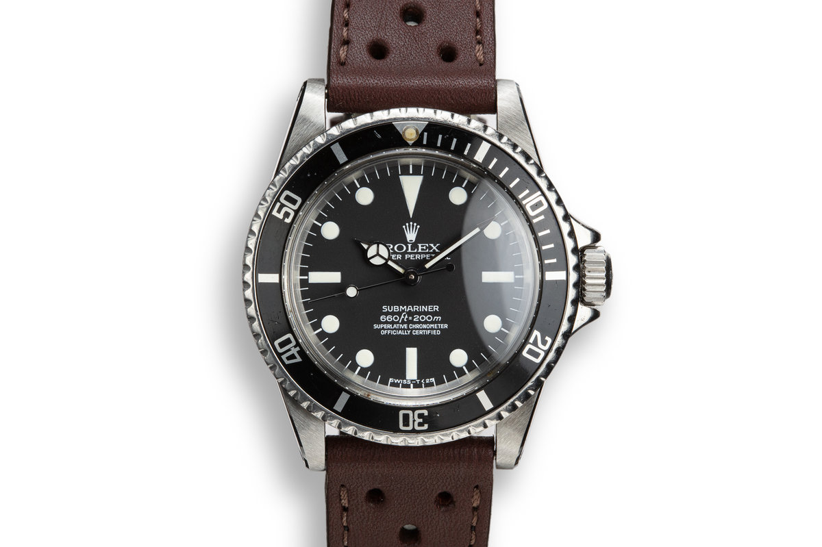 1970 Rolex Submariner 5512 with Service Dial photo, #0