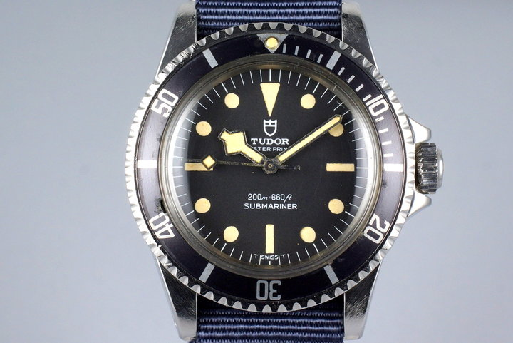 1977 Tudor Submariner 94010 Uncommon Snowflake Hands Only photo