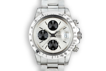 "1993 Tudor Chronograph ""Big Block"" 79180 Sliver Dial photo"
