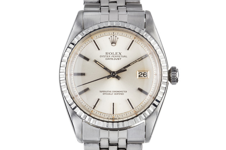 1961Rolex DateJust 1603 Silver Dial photo