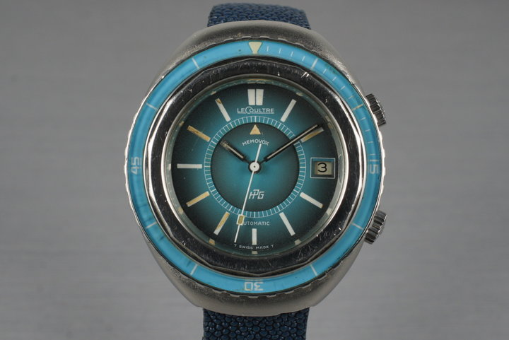 1970's Jaeger LeCoultre Memovox Polaris II photo