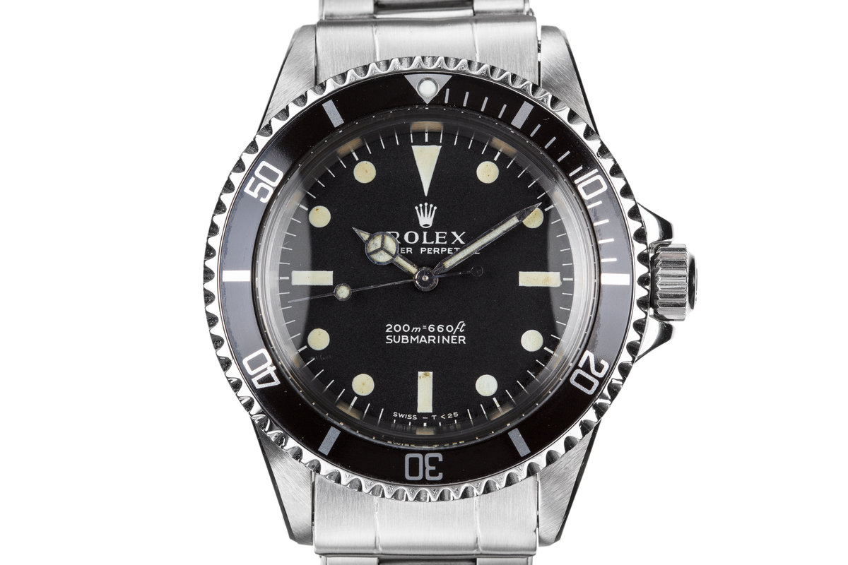 1967 Rolex Submariner 5513 with Service Papers photo, #0