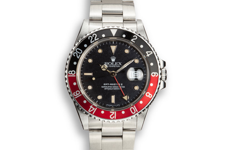 "1987 Rolex GMT-Master II 16760 Coke ""Fat Lady"" photo"