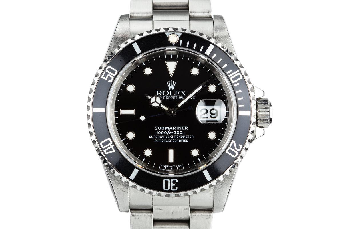 1995 Rolex Submariner 16610 photo, #0