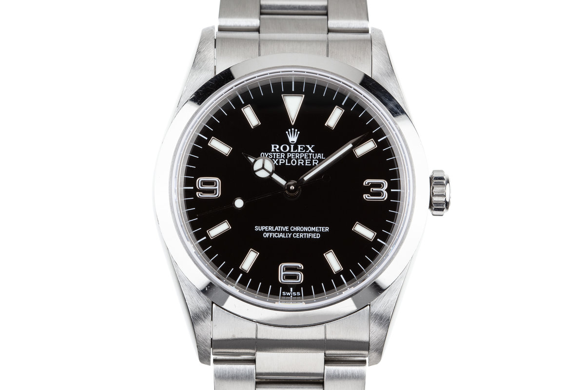 "1997 Rolex Explorer 14270 ""SWISS"" Only Dial photo, #0"