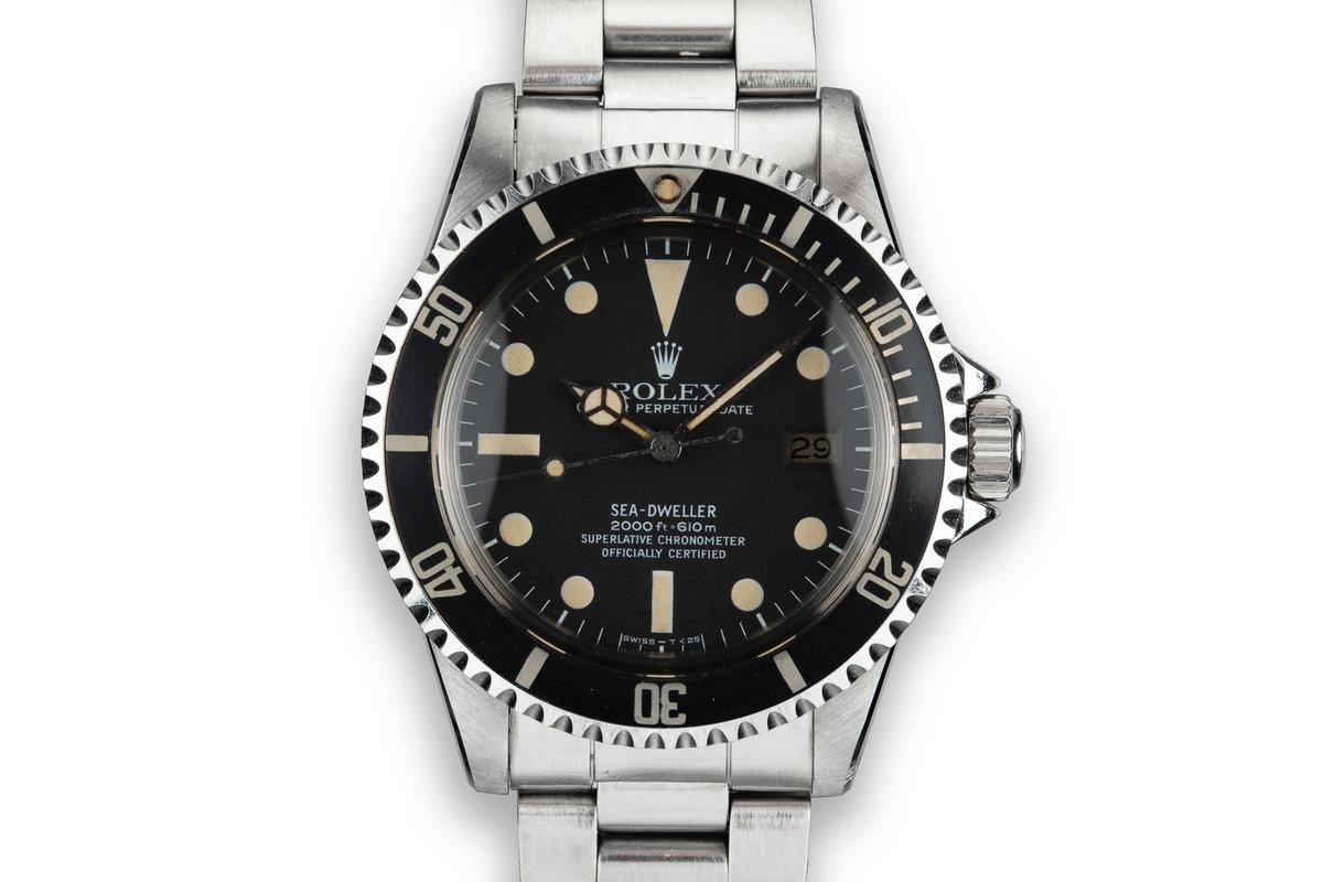 1979 Rolex Sea-Dweller 1665 photo, #0