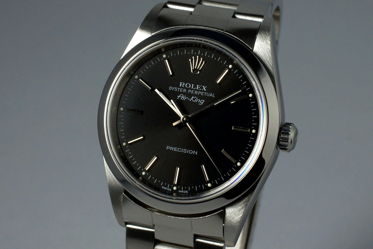 HQ Milton , 2000 Rolex Air,King 14000 Black Dial, Inventory