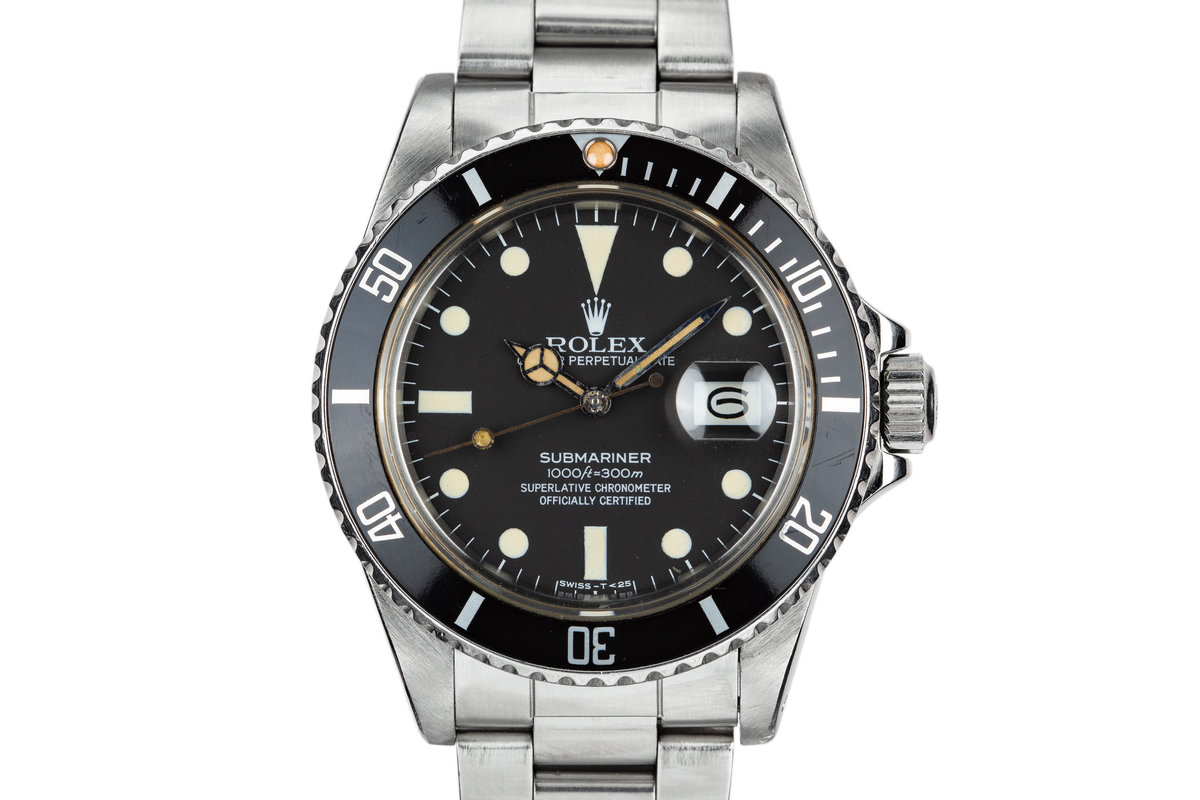 1984 Rolex Submariner 16800 with Box and Papers photo, #0