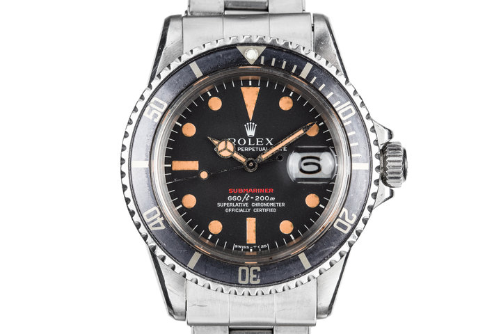 1971 Rolex Red Submariner 1680 photo