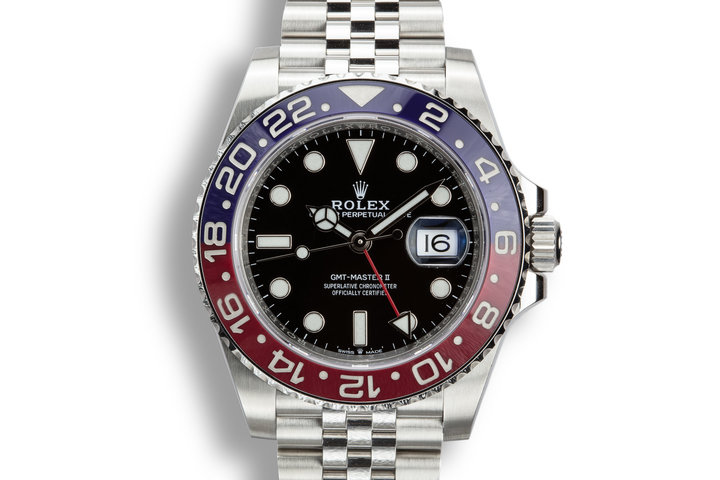 2018 Rolex GMT-Master II 126710BLRO with Box and Papers photo
