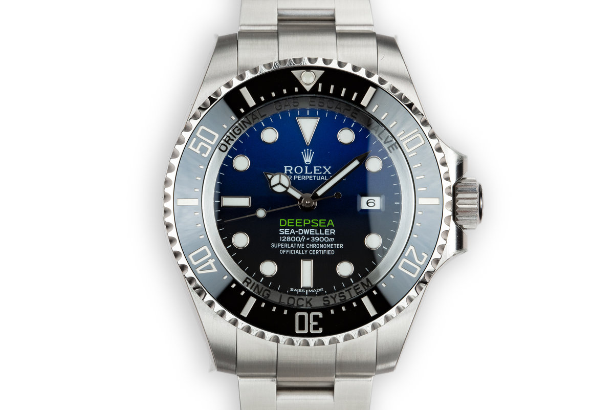 2015 Mint Rolex DeepSea Sea-Dweller 116660 Previously Owned by Reggie Jackson with Box and Papers photo, #0