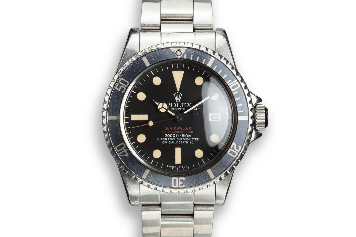 1975 Rolex Double Red Sea-Dweller 1665 photo, #0