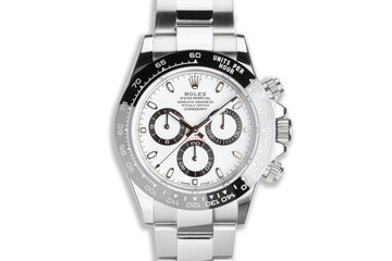 2017 Rolex Daytona 116500LN White Dial with Box & Card photo