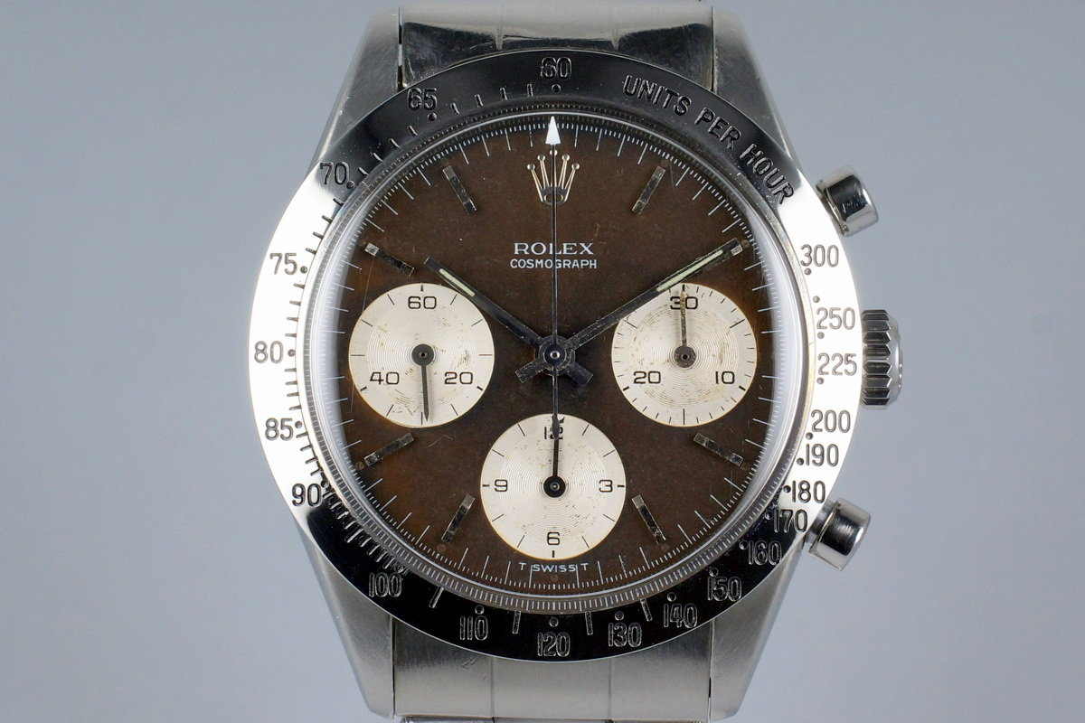 1964 Rolex Chronograph 6239 Tropical Brown Dial photo, #0