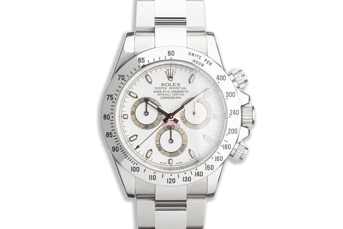 2009 Rolex Daytona 116520 White APH Dial photo, #0