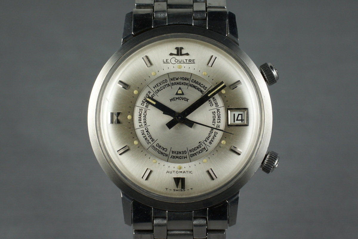 Vintage Jaeger-LeCoultre Memovox World Time photo, #0