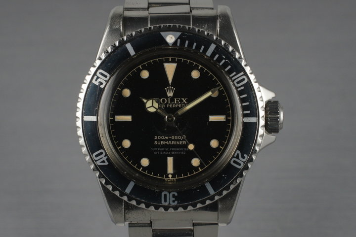 1961 Rolex Submariner 5512 PCG with 4 Line Chapter Ring Dial photo