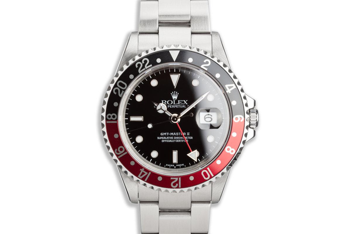 "2000 Rolex GMT-Master II 16710 ""Coke"" Bezel photo, #0"