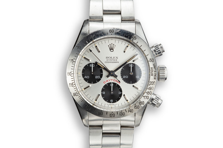 "1979 Rolex Daytona 6265 with Silver ""BIG RED"" Daytona Dial photo"