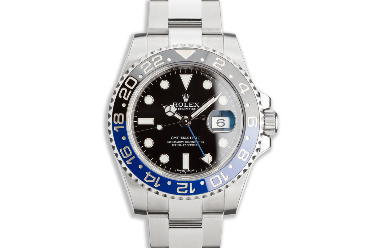 """2016 Rolex GMT-Master II 116710BLNR """"Batman"""" with Box and Card photo, #0"""