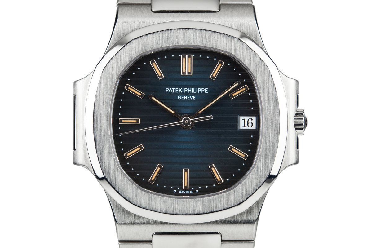 1995 Patek Philippe Nautilus 3800/1 with Box and Papers photo, #0