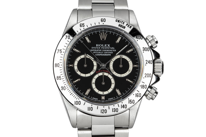 1993 Rolex Zenith Daytona 16520 with Black Inverted 6 Dial photo
