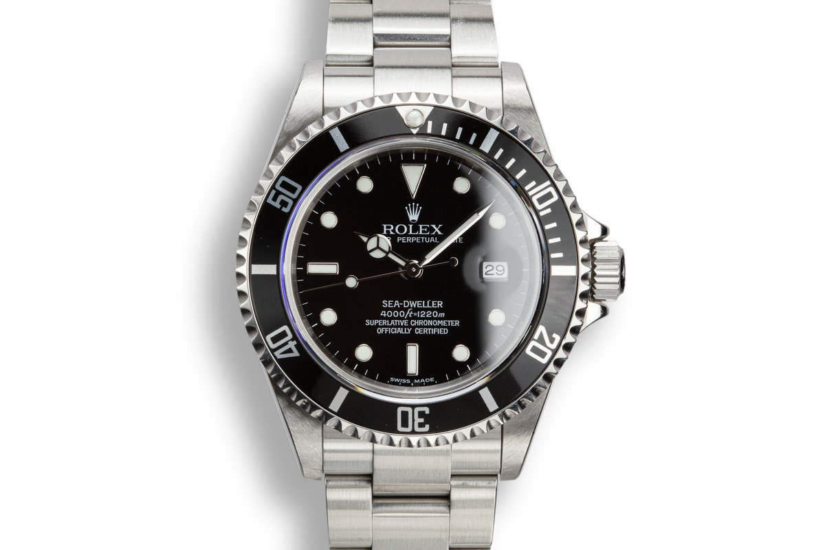 2003 Rolex Sea-Dweller 16600 T with Box and Papers photo, #0