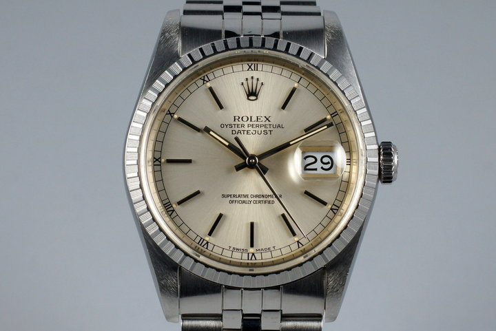 1988 Rolex DateJust 16220 with Box and Japanese Papers photo