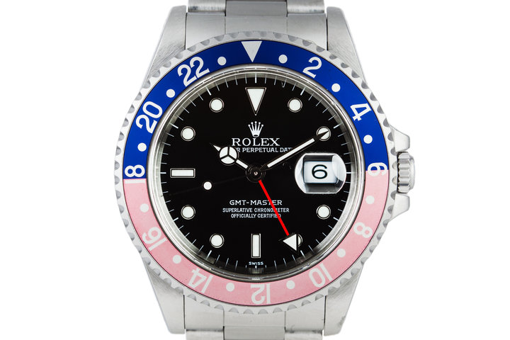 1995 Rolex GMT Master 16700 with Swiss Only Dial photo