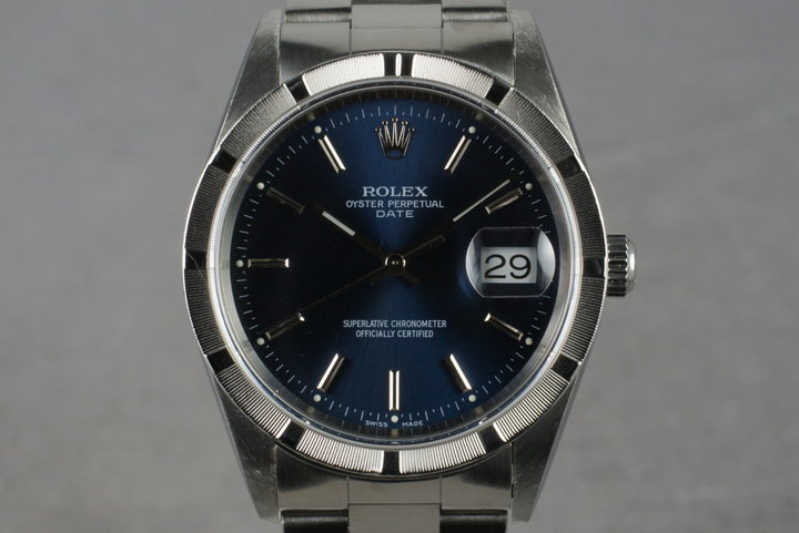 2000 Rolex Date 15210 With Box  Papers photo
