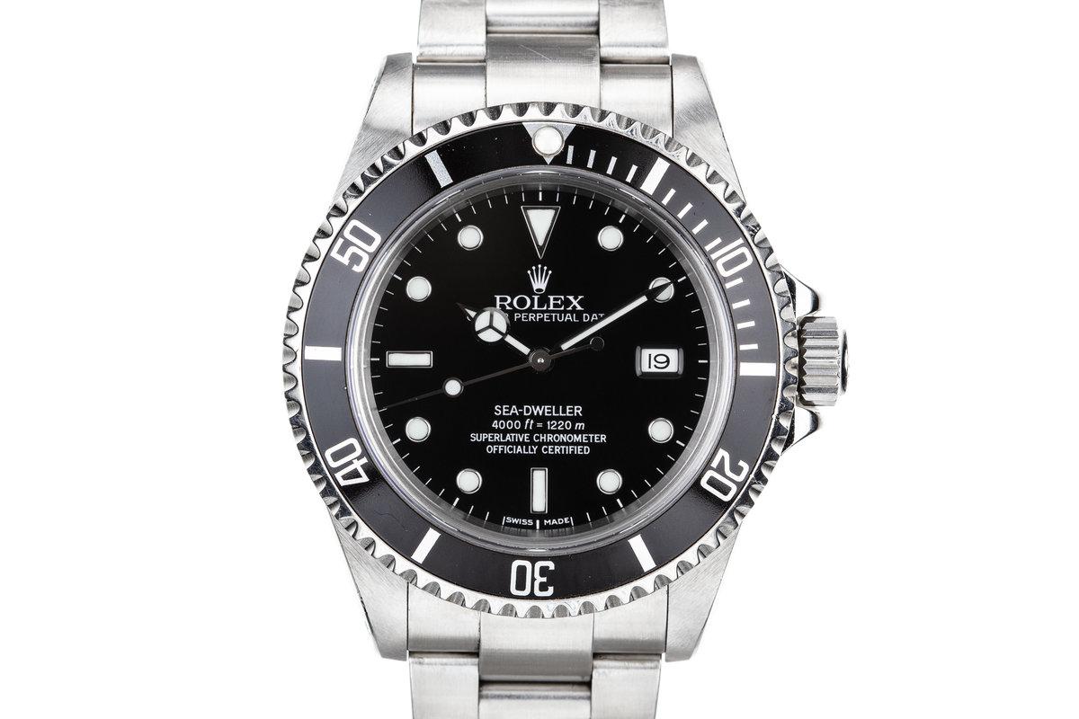 1999 Rolex Sea-Dweller 16600 photo, #0