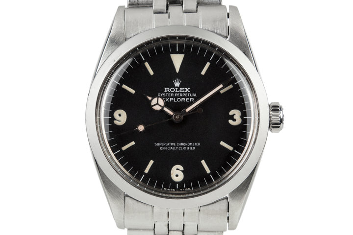 1967 Rolex Explorer I 1016 with FAT font dial photo