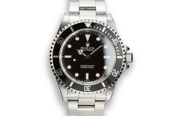 "1999 Rolex Submariner 14060 ""SWISS"" Only Dial photo"