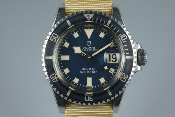 1968 Tudor Submariner 7021/0 Blue Snowflake photo